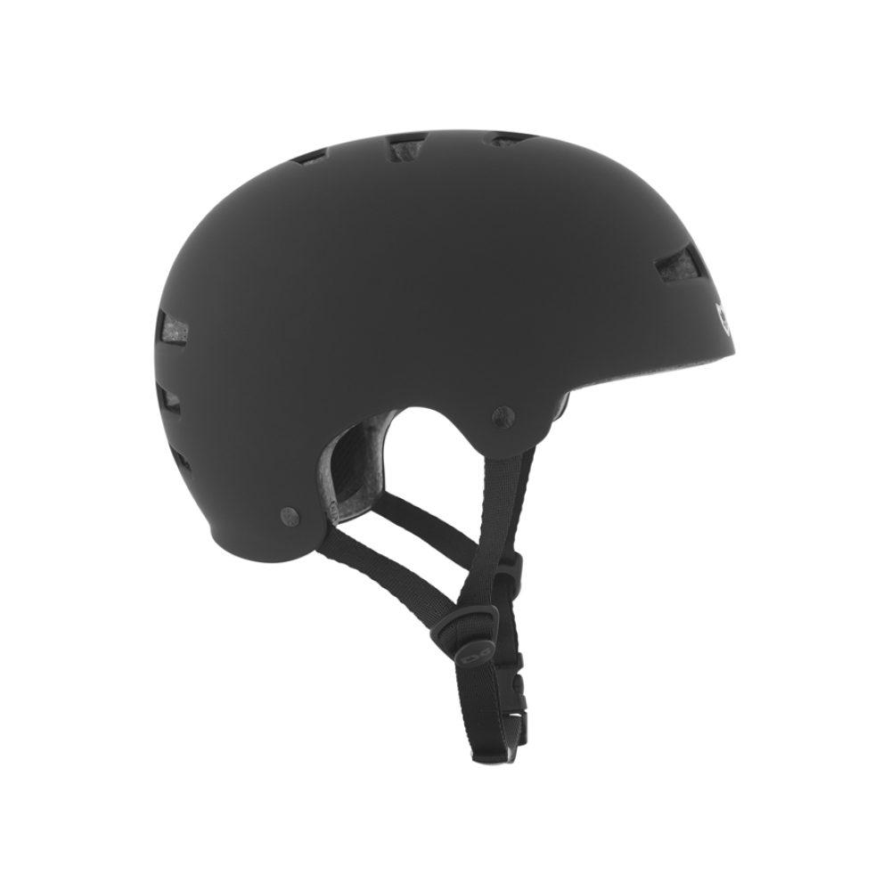 TSG Evolution Solid Flat Black Hjälm