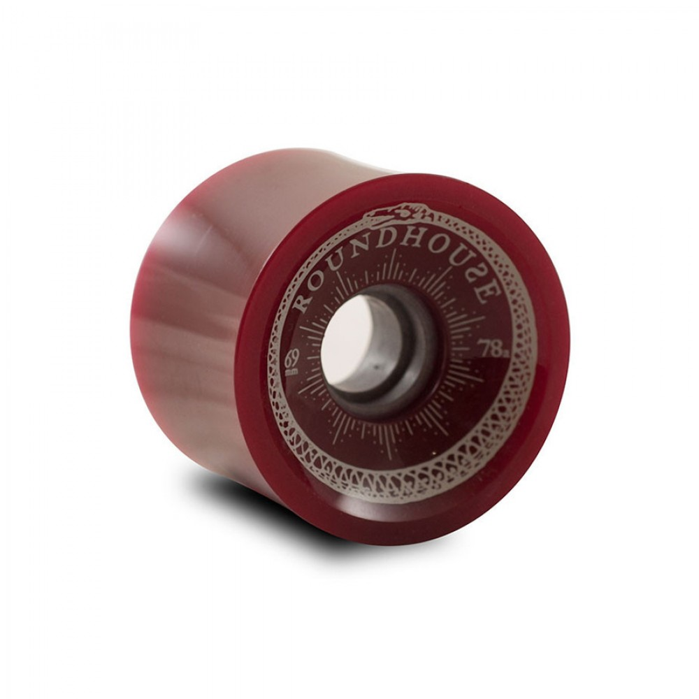 Carver Skateboards 69mm Roundhouse Concaves Wheels Oxblood