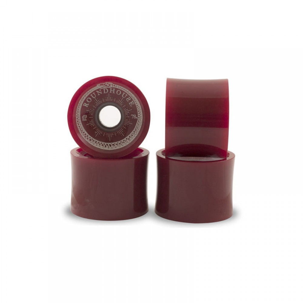 Carver Skateboards 69mm Roundhouse Concaves Wheels Oxblood Pack