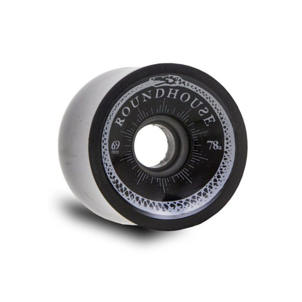 Carver Skateboards Roundhouse Concaves 69mm Wheels Smoke