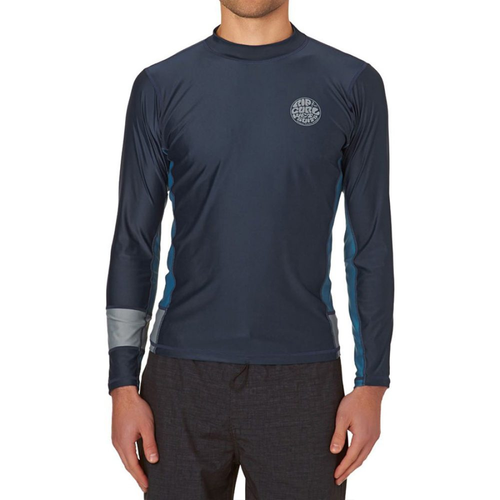 Rip Curl Aggro Relaxed L/SL UV Tee Blue