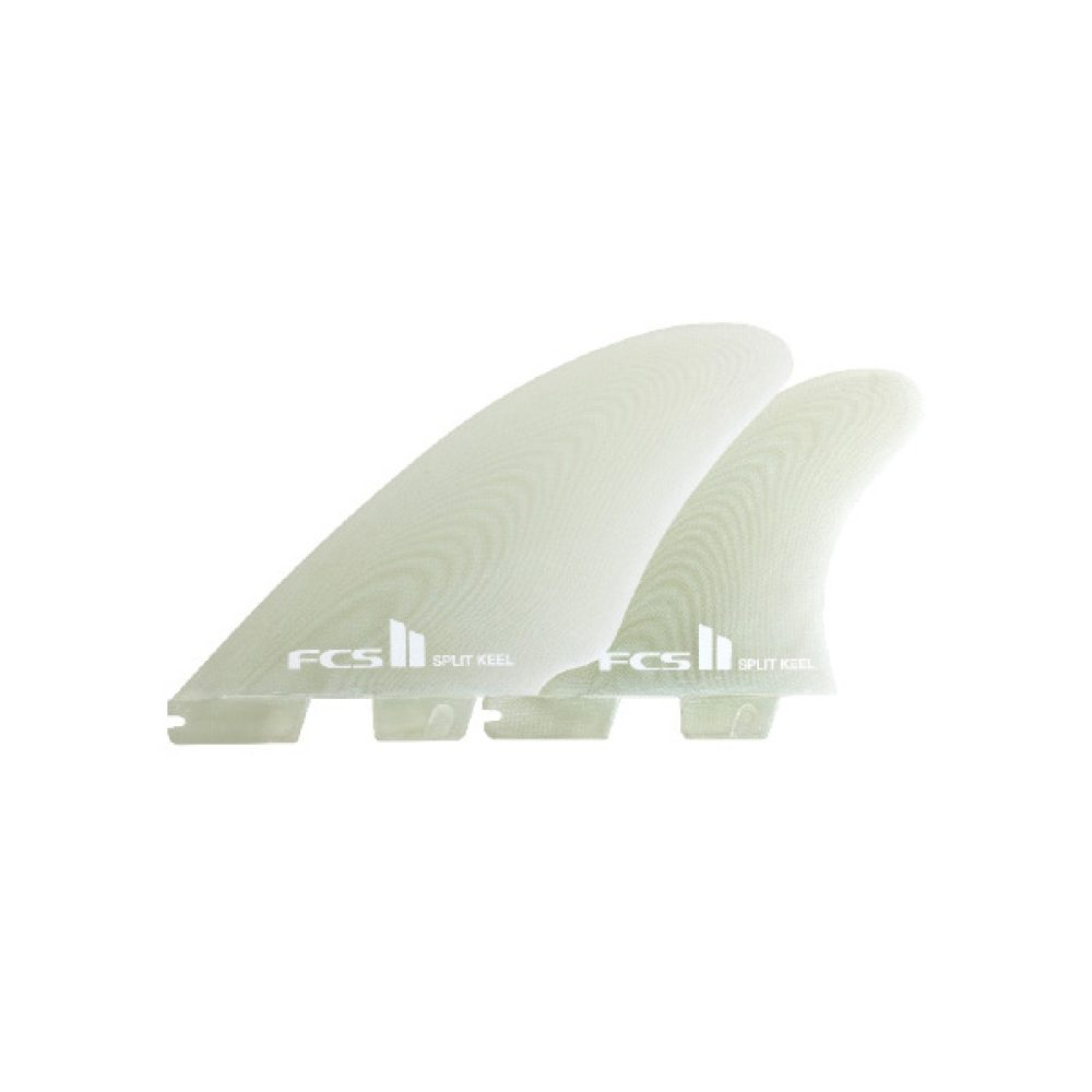 FCS II Split Keel Quad Set