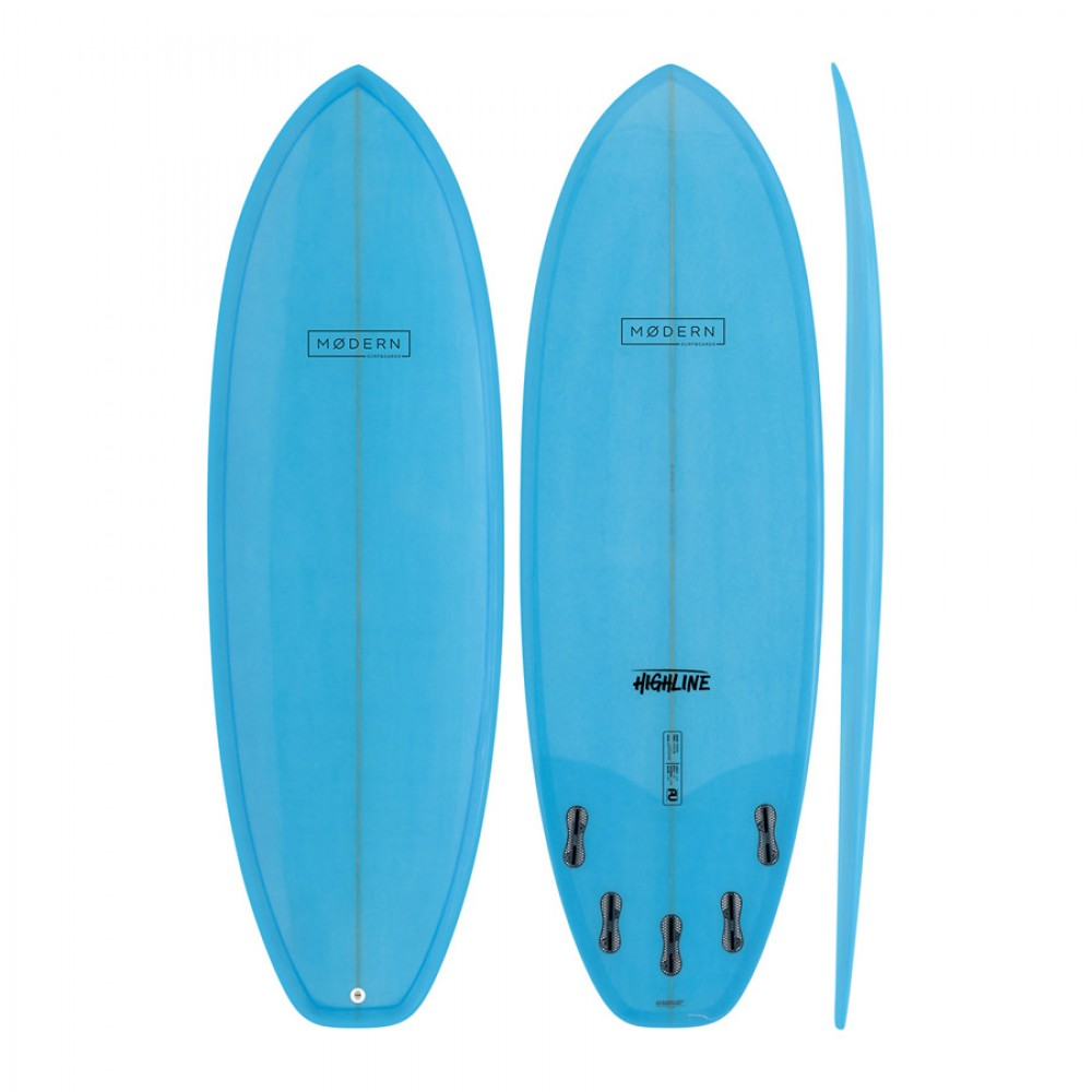 Modern Highline PU Blue Ice Tint