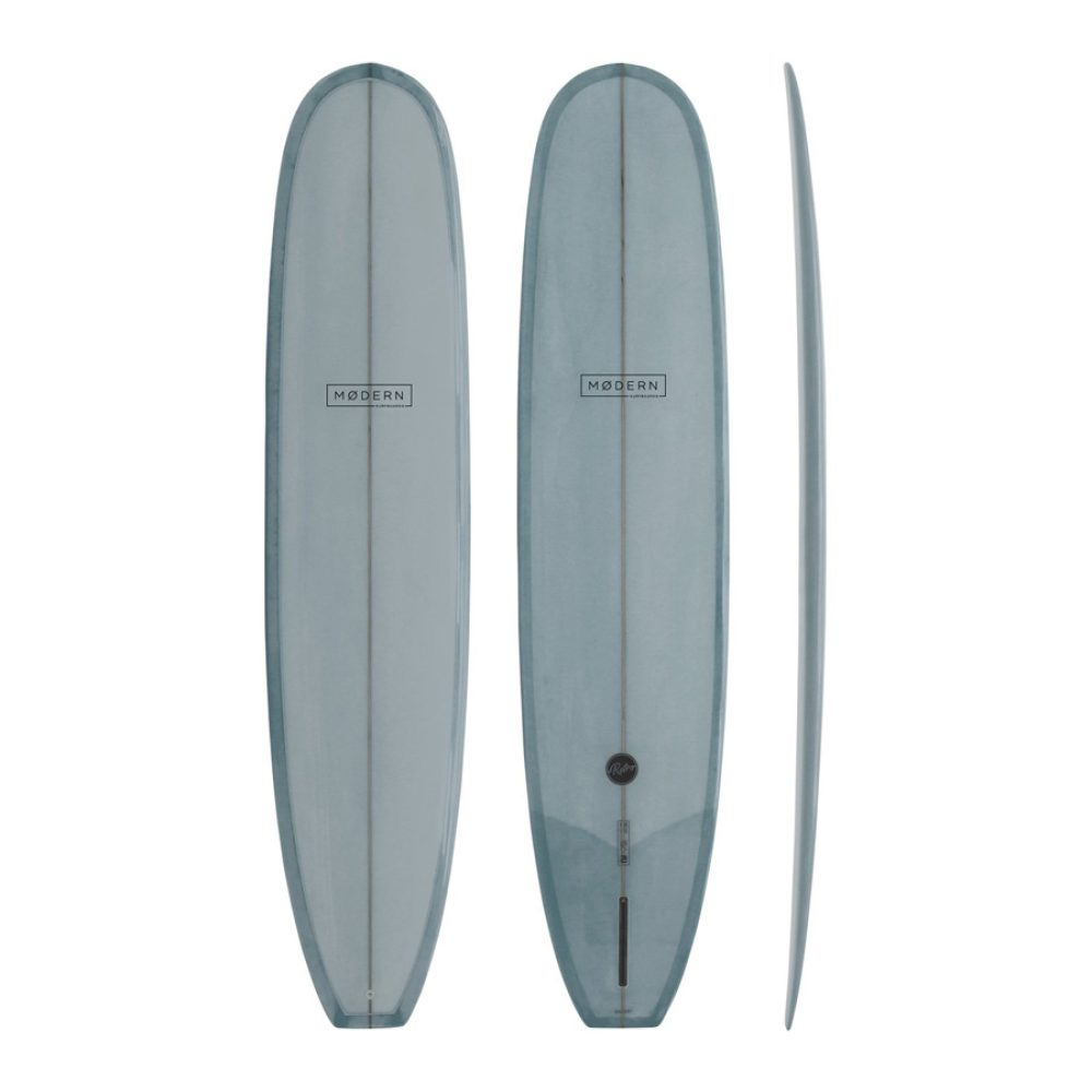 "Modern Retro Longboard 9'6"" Cool Grey"