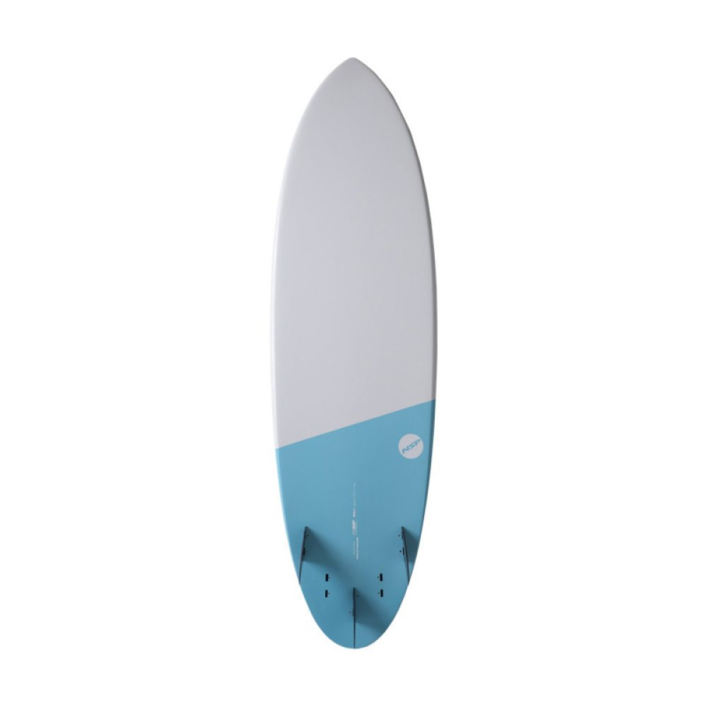 "NSP Hybrid 6'4"" Elements Electric Blue Bottom"