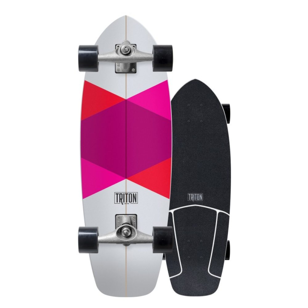 "Carver Skateboards Triton Red Diamond 29"""