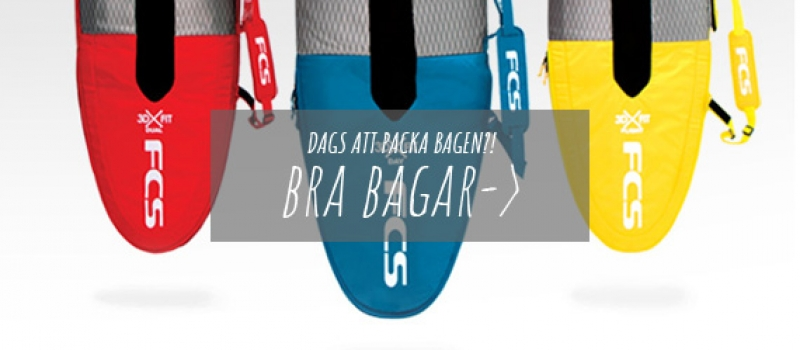Boardbags för surfing, resa