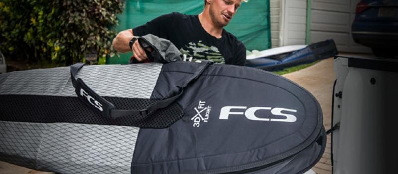 FCS Boardbags för surfing, resa